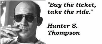Hunter S Thompson, www.rugusavay.com